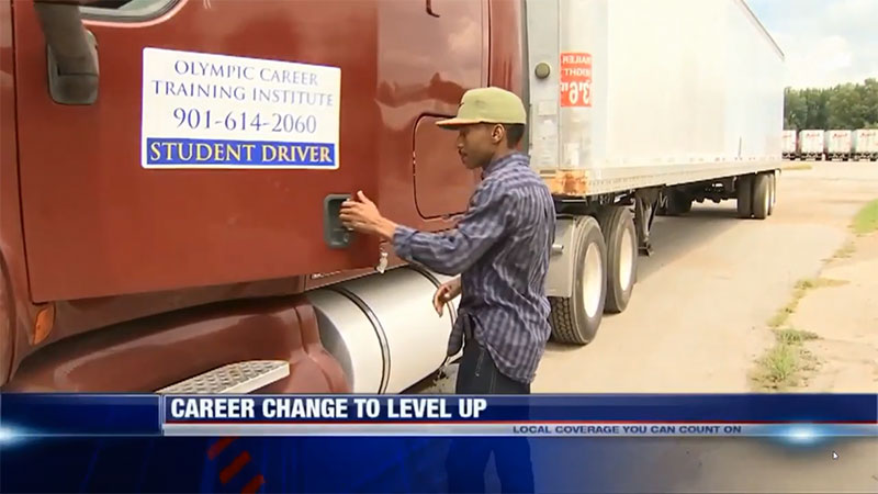 Video – OCTI CDL Student Story Update Fox 13 Memphis