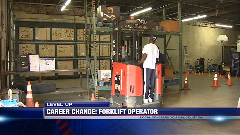 Video – Level Up: Training center helps to fill high demand for forklift operators Fox 13 Memphis
